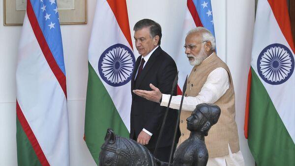 Визит Шавката Мирзиёева в Индию - Sputnik Узбекистан