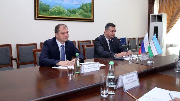 Vizit vitse-prezidenta Mejdunarodnoy organizatsii ugolovnoy politsii-Interpol v MVD Respubliki Uzbekistan - Sputnik Oʻzbekiston