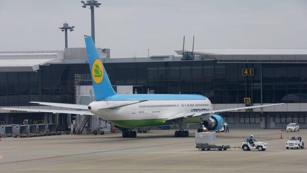 Боинг 767-300 авиакомпании Uzbekistan Airways  - Sputnik Узбекистан