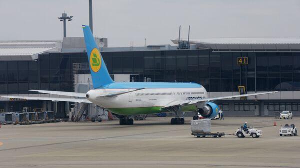 Boing 767-300 aviakompanii Uzbekistan Airways  - Sputnik Oʻzbekiston