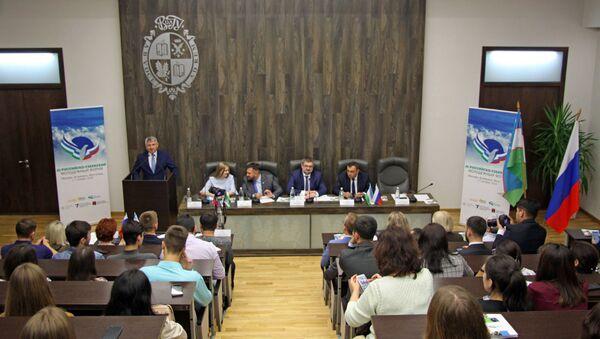 В ВолГУ начал работу Российско-Узбекский молодежный форум - Sputnik Узбекистан