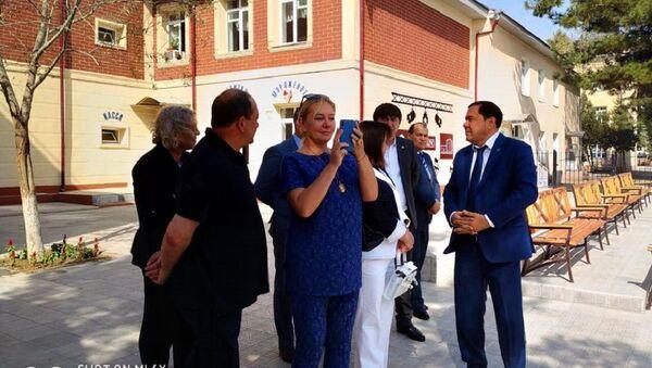 Члены экспертного совета ТЭФИ-Содружество встретились со студентами Университета журналистики - Sputnik Узбекистан