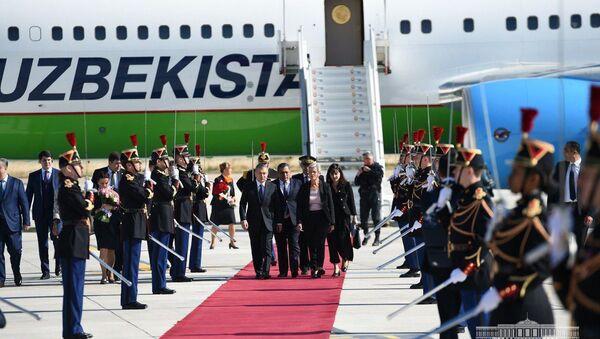 Президент Узбекистана Шавкат Мирзиёев прибыл во Францию - Sputnik Ўзбекистон