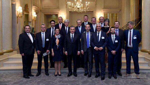Президент Республики Узбекистан Шавкат Мирзиёев провел встречу с руководителями крупнейших французских компаний - Sputnik Ўзбекистон
