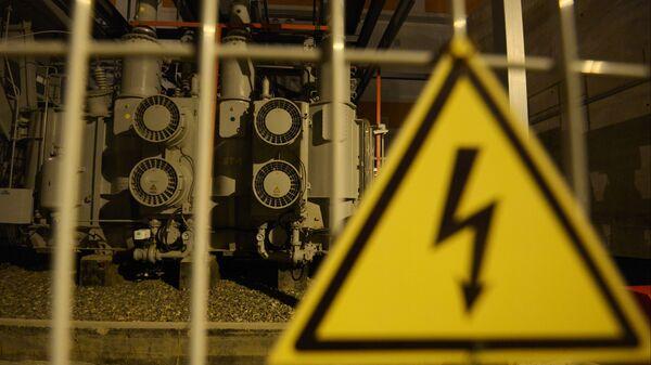 Ввод в эксплуатацию новой электростанции - Sputnik Узбекистан