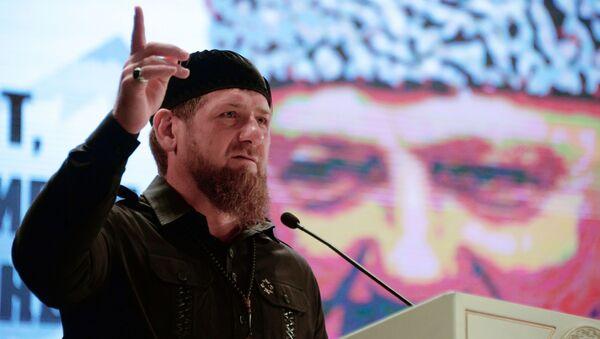 Глава Чеченской Республики Рамзан Кадыров - Sputnik Ўзбекистон