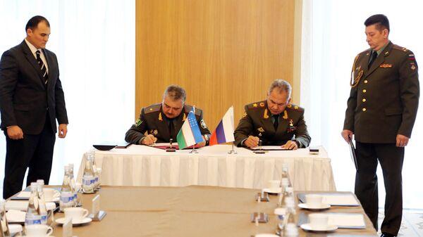 Vizit Ministra oboronы RF Sergeya Shoygu v Uzbekistan - Sputnik Oʻzbekiston