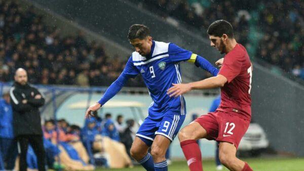 Товарищеский матч сборных Узбекистана и Катара - Sputnik Узбекистан