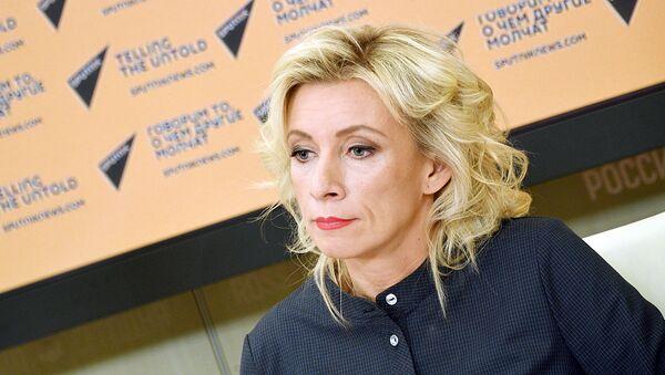 Ofitsialnыy predstavitel MID RF Mariya Zaxarova - Sputnik Oʻzbekiston