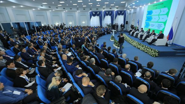 Панельная дискуссия в рамках межрегионального российско-узбекского форума в Ташкенте - Sputnik Узбекистан