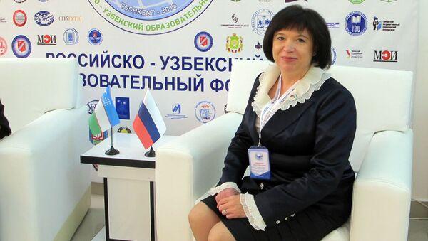 Проректор Нижегородского университета Жанна Никонова  - Sputnik Узбекистан