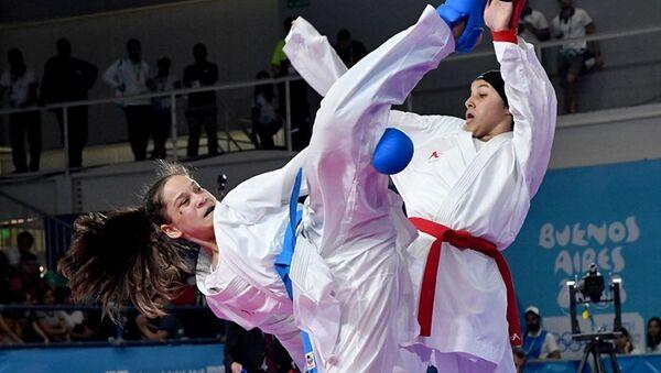 Узбекистанка завоевала бронзу по каратэ на юношеской Олимпиаде - Sputnik Узбекистан