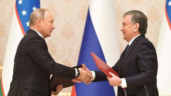 Государственный визит президента РФ В.Путина в Узбекистан, архивное фото - Sputnik Узбекистан