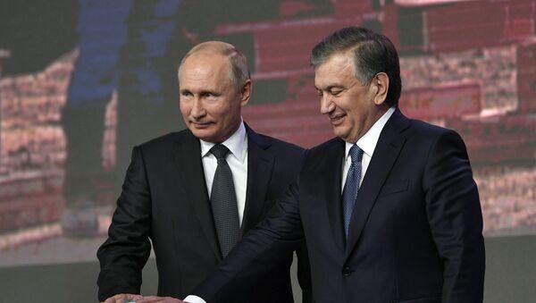 Государственный визит президента РФ В.Путина в Узбекистан - Sputnik Ўзбекистон