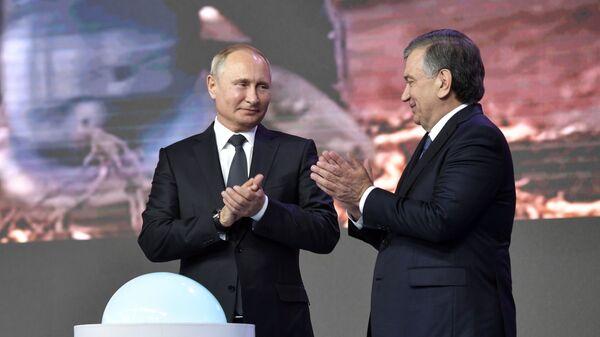Государственный визит президента РФ В.Путина в Узбекистан - Sputnik Узбекистан