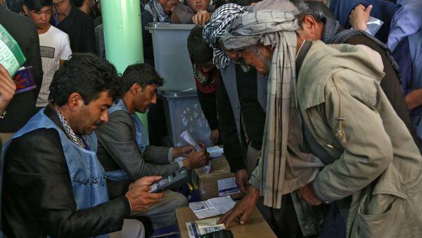 Парламентские выборы в Афганистане - Sputnik Ўзбекистон