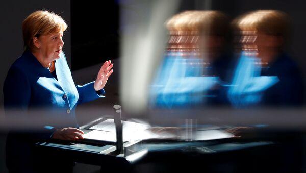 Kantsler Germanii Angela Merkel - Sputnik Oʻzbekiston