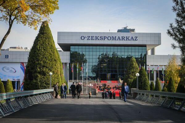 В рамках I Форума межрегионального сотрудничества России и Узбекистана прошла сельскохозяйственная выставка - Sputnik Узбекистан