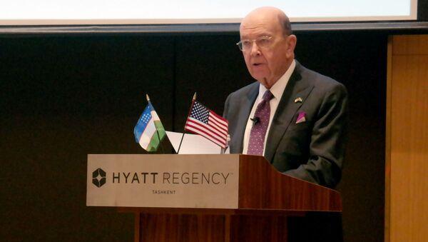 23 октября в гостинице Hyatt Regency Tashkent состоялся ежегодный узбекско-американский бизнес–форум - Sputnik Ўзбекистон