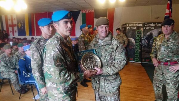 Войсковые разведчики Узбекистана победили на конкурсе Кембрийский патруль в Великобритании  - Sputnik Ўзбекистон
