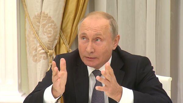 Путин про герб США - Sputnik Ўзбекистон