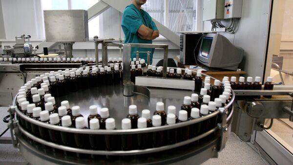 Работа фармацевтического завода - Sputnik Узбекистан