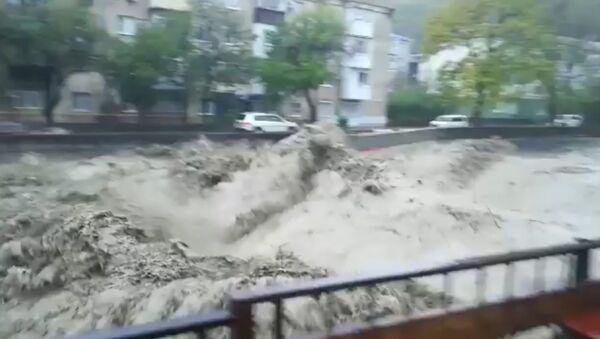 Наводнение в Туапсе - Sputnik Узбекистан