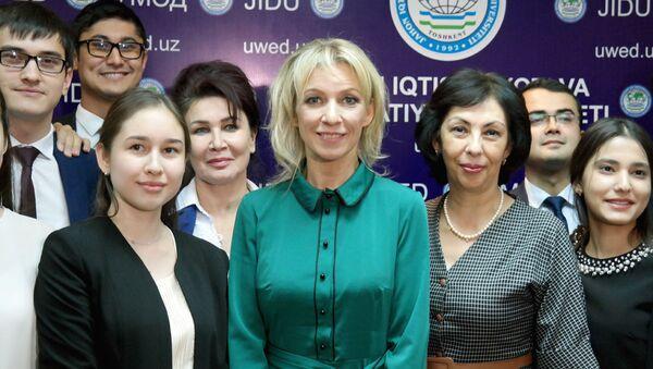 Визит Официального представителя МИД РФ Марии Захаровой в Узбекистан - Sputnik Ўзбекистон
