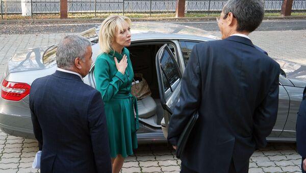 Визит Официального представителя МИД РФ Марии Захаровой в Узбекистан - Sputnik Узбекистан
