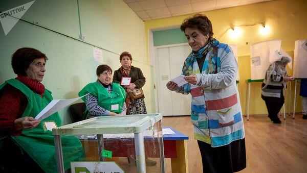 Президентские выборы в Грузии - Sputnik Узбекистан