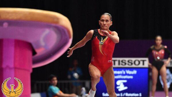 Оксана Чусовитина вышла в финал Чемпионата мира по спортивной гимнастике в Дохе - Sputnik Ўзбекистон