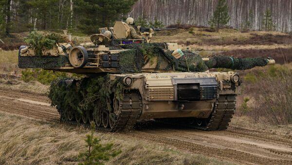 Tank M1 Abrams - Sputnik Oʻzbekiston