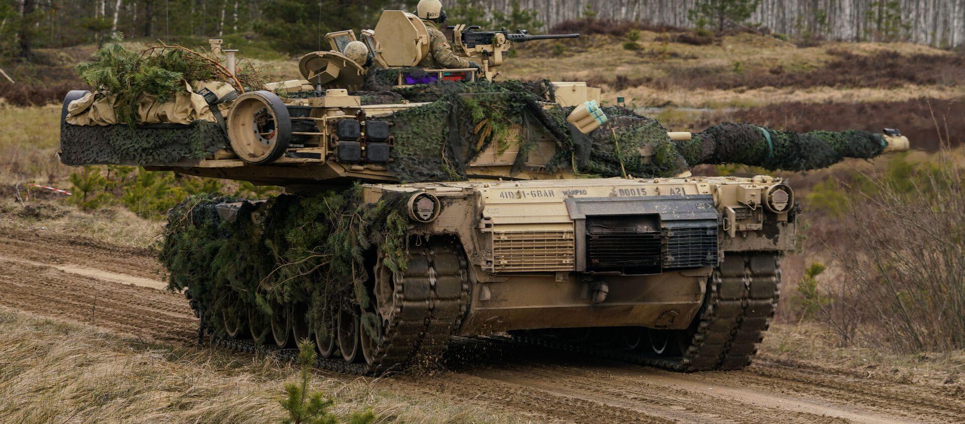 Tank M1 Abrams - Sputnik Oʻzbekiston, 1920, 04.02.2021