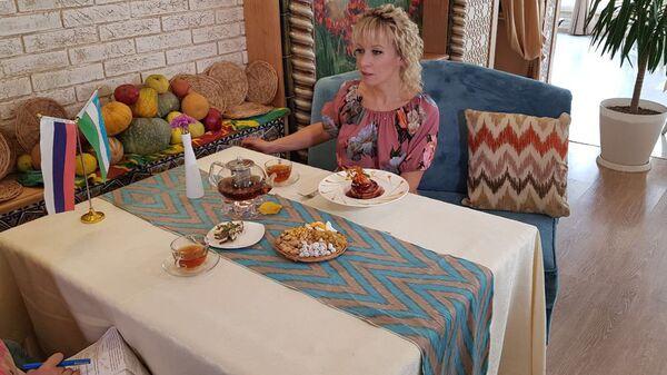 Официальный представитель МИД РФ Мария Захарова во время визита в Ташкент - Sputnik Ўзбекистон