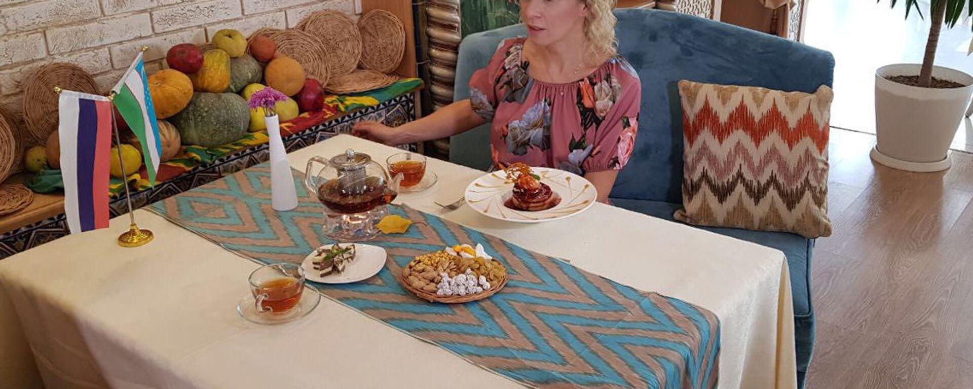 Ofitsialnыy predstavitel MID RF Mariya Zaxarova vo vremya vizita v Tashkent - Sputnik Oʻzbekiston, 1920, 02.11.2018