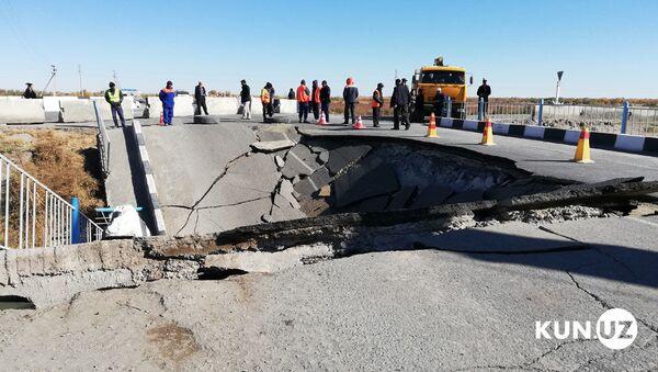 В Ургенче обрушился мост - Sputnik Узбекистан