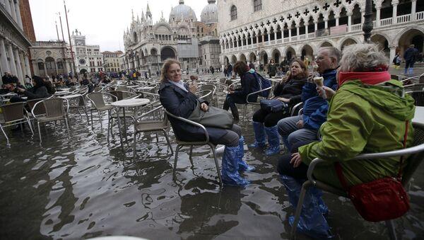 Наводнение в Венеции - Sputnik Узбекистан