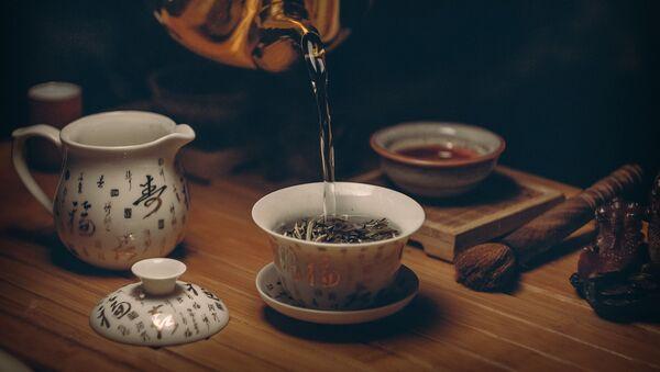 Процесс заваривания чая - Sputnik Ўзбекистон