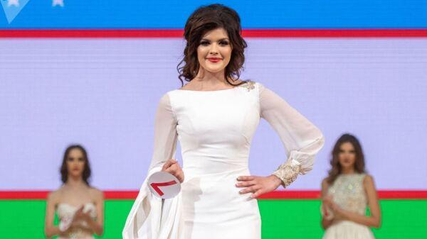 Tanlovda Oʻzbekiston nomidan 19 yoshli Nigina Faxriddinova ishtirok etdi.  - Sputnik Oʻzbekiston
