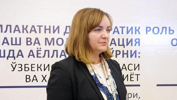 Наталья Герман, специальный представитель Генсека ООН и руководитель Регионального центра ООН по превентивной дипломатии для ЦА - Sputnik Ўзбекистон