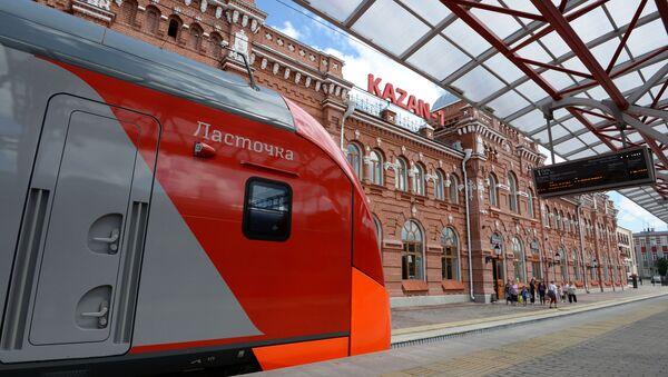 Jeleznodorojnыy vokzal v Kazani - Sputnik Oʻzbekiston