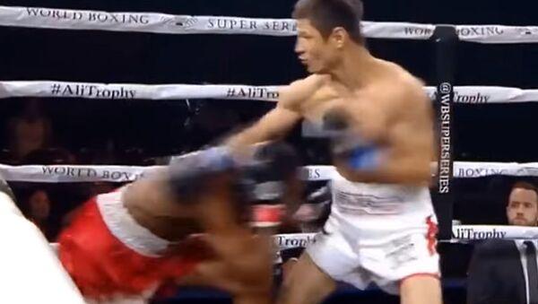 Uzbekskiy bokser Shoxjaxon Ergashev - Sputnik Oʻzbekiston