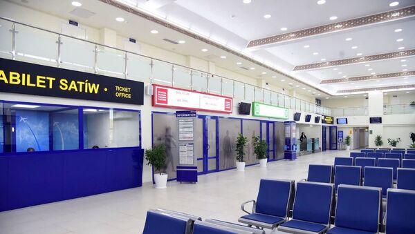 Отремонтированный аэропорт  - Sputnik Узбекистан