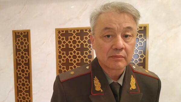 Командующий пограничными войсками СГБ Узбекистана генерал-майор Руслан Мирзаев - Sputnik Ўзбекистон