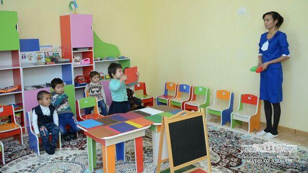 В Каракалпакстане открыли новый детский сад - Sputnik Ўзбекистон