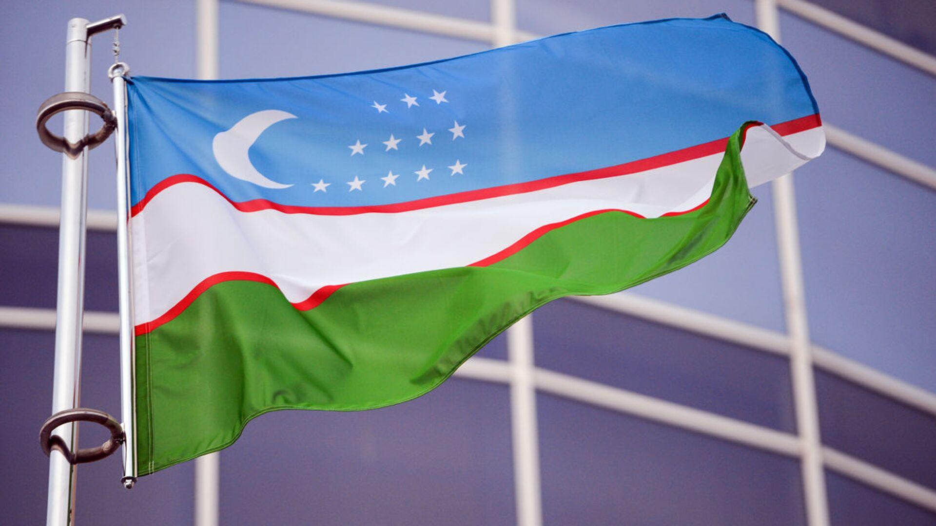 Flag Uzbekistana - Sputnik Oʻzbekiston, 1920, 02.09.2021